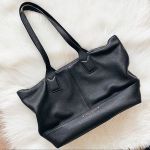 Marc Jacobs • Large Black Leather Tote Bag